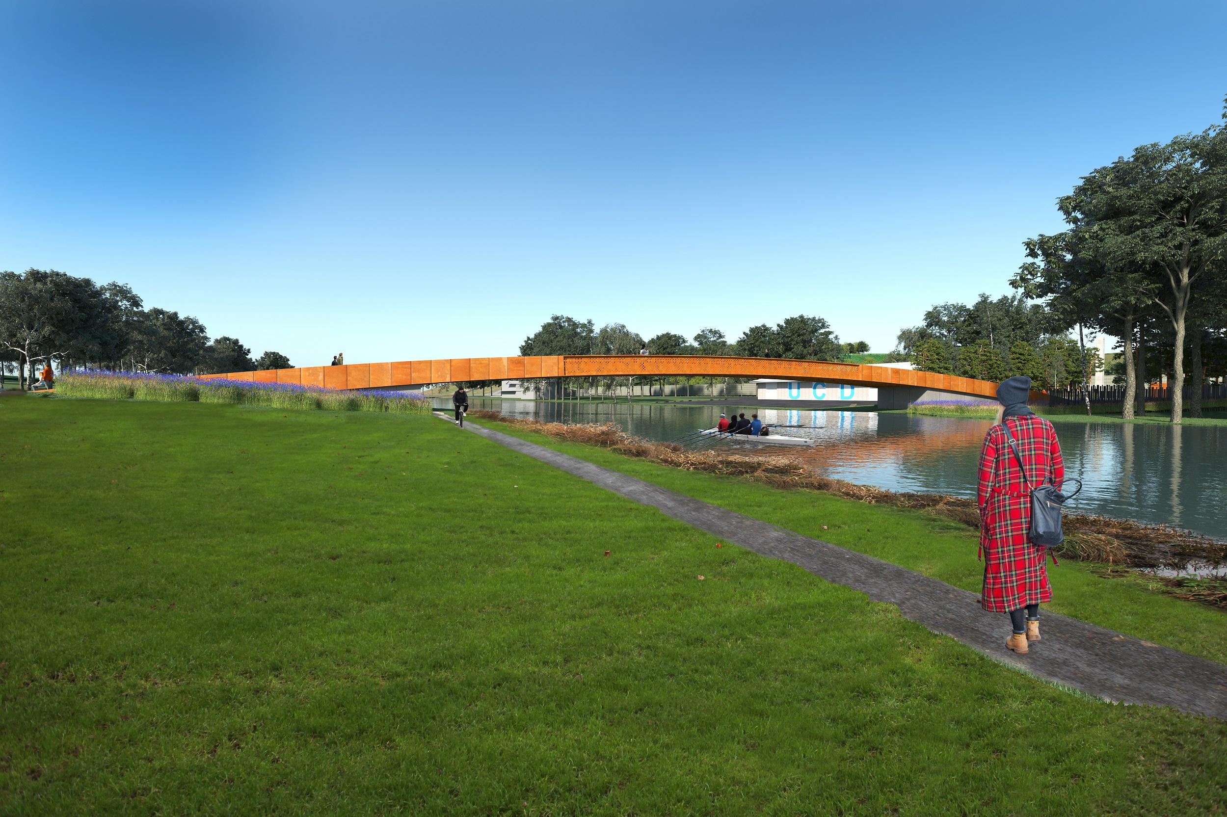 Comma Architects Irish War Memorial Gardens Bridge Competition 2019 (8)